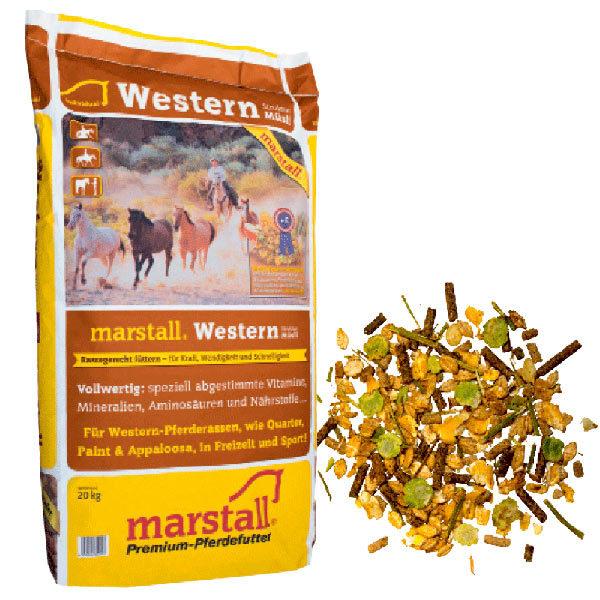 Marstall - Western Struktur-Müsli 20kg