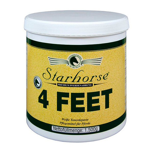 Starhorse - 4-Feet / Tonerdepaste 1500g