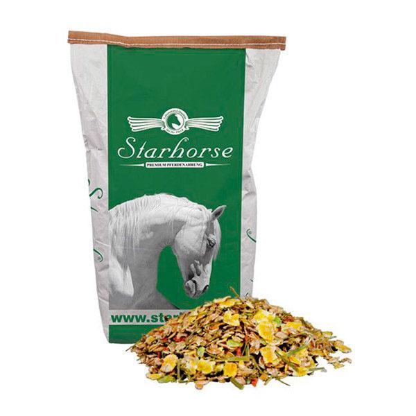 Starhorse - Golden Natur-Müsli geflockt/melassefrei 14kg