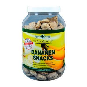 Starhorse - Leckerli Bananen-Snacks 800g