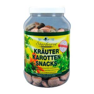 Starhorse - Leckerli Kräuter-Karotten-Snack 800g